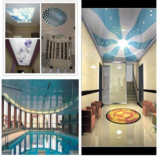 pvc ceiling sample