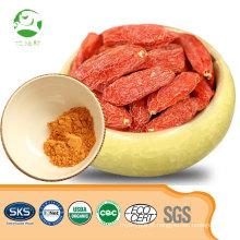 Venda quente natural orgânico goji berry extrato em pó