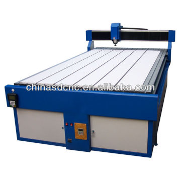cnc router machine with cutting coolant for aluminum cutting