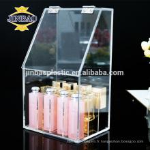 Jinbao bonne qualité multicouche cristal acrylique matériau gâteau porte-support
