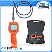 "flexible endoscopy with gooseneck tube 2.4"" HD borescope camera"