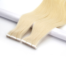 Wholesale Price 10-40inch 100% Human Hair Invisible Tape in Double Drawn Remy Tape Hair Extension
