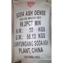 99,2% Min Bestpreis Soda Asche Dichte für Industrie Grade