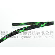 Hitzebeständige geflochtene Hülse für Kabel