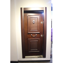 Ghana wooden door and metal door chinese wooden door and metal doors for ghana