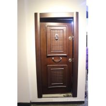 Porta de madeira de Gana e porta de madeira chinesa de porta de metal e portas de metal para Gana