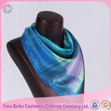 Mais recente super valido 100% lenço de seda cachecol quadrado / longo pescoço