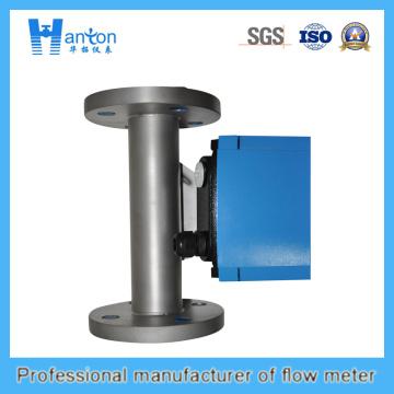 Installation verticale Rotamètre en tube de métal 316L pour Dn100-Dn150