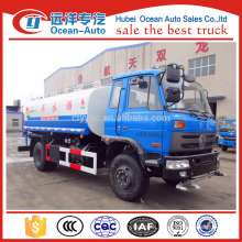 2016's new dongfeng 4*2 water tank truck, 10cbm water truck for sale