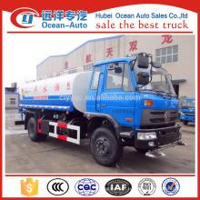 Новый грузовик-цистерна для перевозки воды dongfeng 4 * 2 в 2016 году, грузовик для воды объемом 10 куб.м.