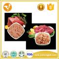 Halal Pet Treats Natural Beef Flavour Dog Food Can