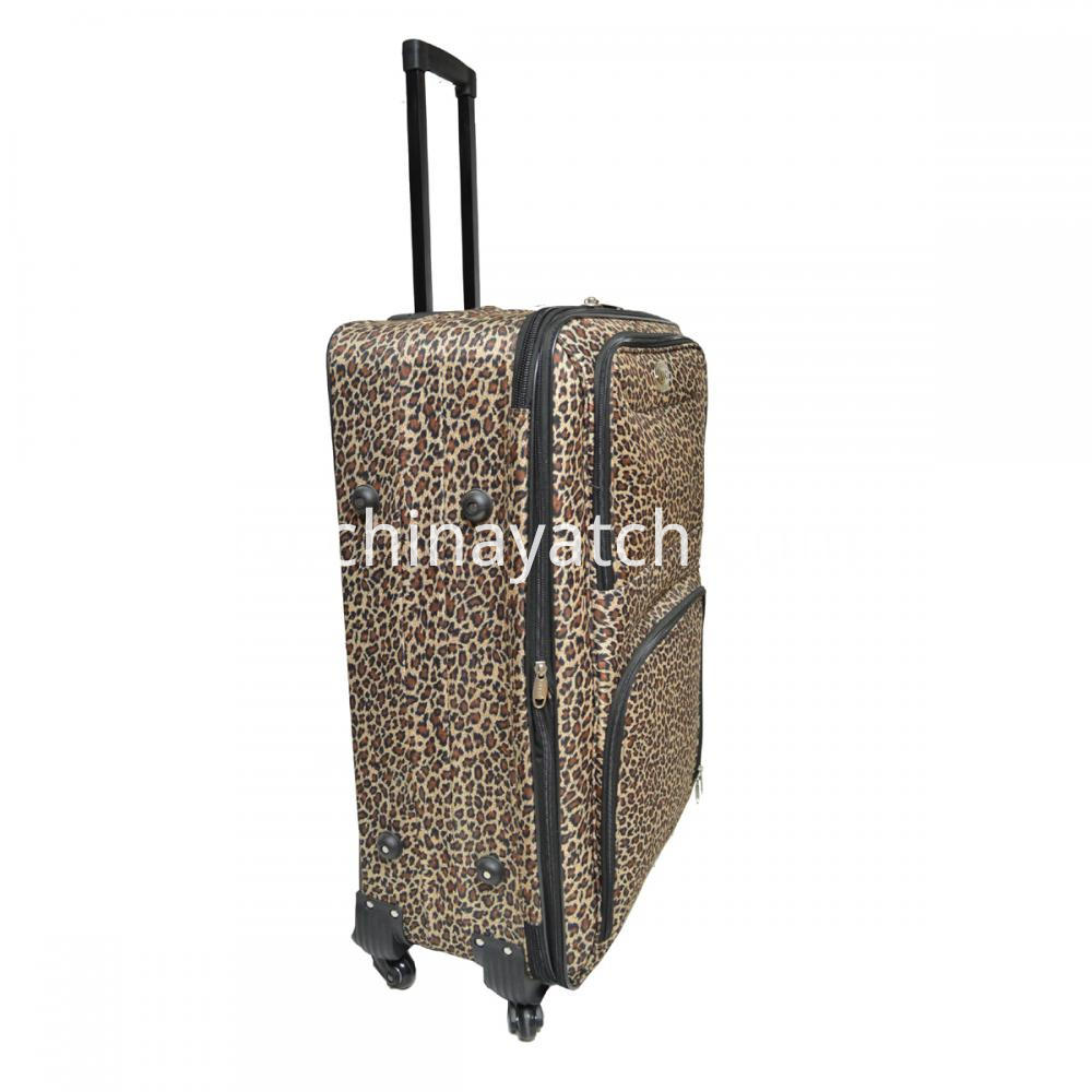 Softshell Printing Trolley Luggage