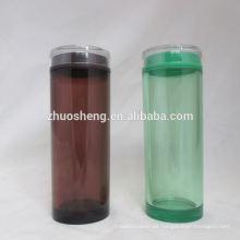botella de leche de plástico simple de alta calidad personalizados respetuoso del medio ambiente