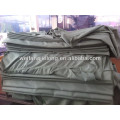 100% polyester plain dyed bedsheet fabric