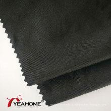 Tecido de malha de poliéster spandex de trama escovado com acabamento para capa de carro