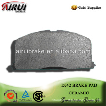 D242 corolla frente cerâmica freio almofadas