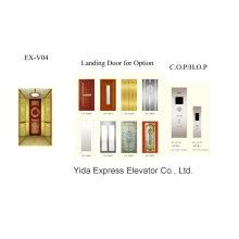 Titanium Gold Mirror Home Elevator Manufacturer