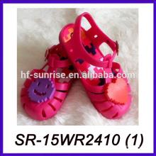 Улыбка лицо дети желе сандалии оптовая желе сандалии малыш сандалии
