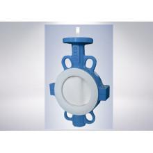 Válvula de mariposa para suministro de agua