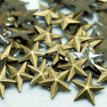 Hotfix estrellas Nailheads antiguo bronce 8mm