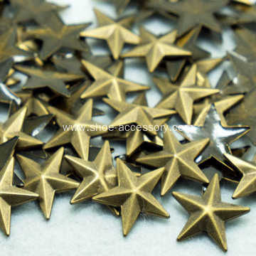 Star Hotfix Nailheads Antique Brass 8mm