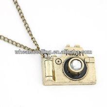 Fashion Alloy Camera Design Long Pull Collier Chian JN29