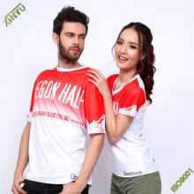 Good Quality 100% Polyester Dri Fit T-Shirts for Sports/Running/Marathon