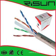 Fuente de fábrica de cable de comunicación UTP CAT6 de venta caliente
