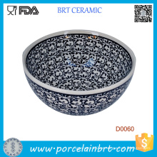 Pottery Avenue Black Diamond 16oz. Tazón de cereal
