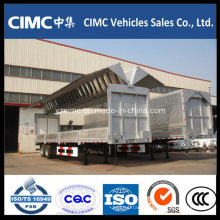 Cimc 3 Axle Wing Side Wall Open Box Trailer