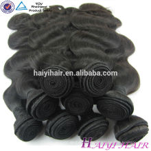 Fabrik Großhandel 12 Zoll bis 30 Zoll Dicke endet Körperwelle reines malaysisches Haar