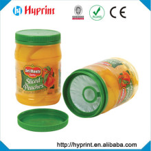 2015 Best quality Pressure Sensitive Label for canned fruit