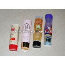 Tubo cosmético, tubo macio, tubo de embalagem cosmético para xampu