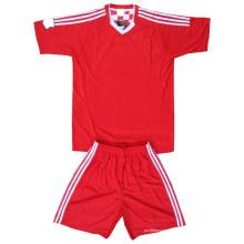Custom печатных футбол форменные сублимированные трикотажные изделия футбола