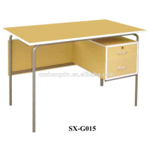 office /study desk with steel feet and MDF board