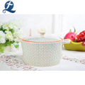 China Manufacture Eco Friendly Keep Food Warm Casserole Ceramic Soup Pot