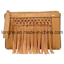 Designer Front Fringe Fashion Lady Handbag (LY0149)