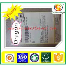 Papel adhesivo de color blanco 90g (Whoesale)