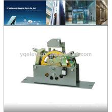 Aufzugsregelung, Aufzugsregler, Aufzugseilbremse