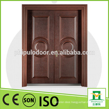 Fashionable design cast aluminum anti theft metal door with bullet proof