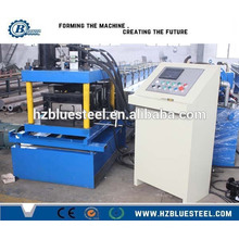Gear Box Cr12 Roller Automatic C Z Purlin Roll Forming Machine With Low Price