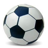 10-inch Beach Football with PVC Thickness of 0.18mm