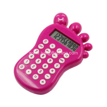 Promotional Cartoon Baby Foot Shaped Calculator