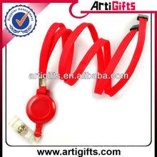 2013 carrete retractable del cordón de la manera del color rojo