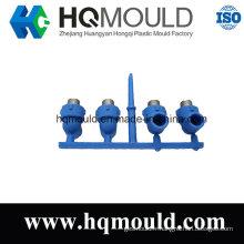 Moulage par injection en plastique de tuyau de pièce en t de couple de haute qualité
