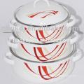 Увядая Цвет Эмалированная Посуда Эмалированную Кастрюлю Эмалированная Посуда