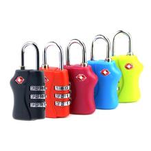 Tsa338 equipaje de viaje de bloqueo de combinación o candado de código de bolsa