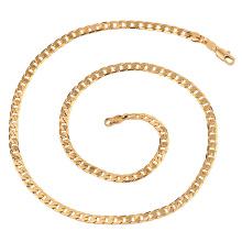 41027 Atacado popular jóias simples design de estilo hip hop colar de corrente de ouro