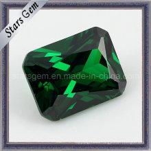 Rectángulo Esmeralda de Alta Moda Cubic Zirconia