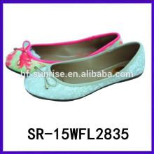 2015 neue Design Modell Mädchen Schuhe Mädchen Weihnachten Schuhe Mädchen flache Schuhe